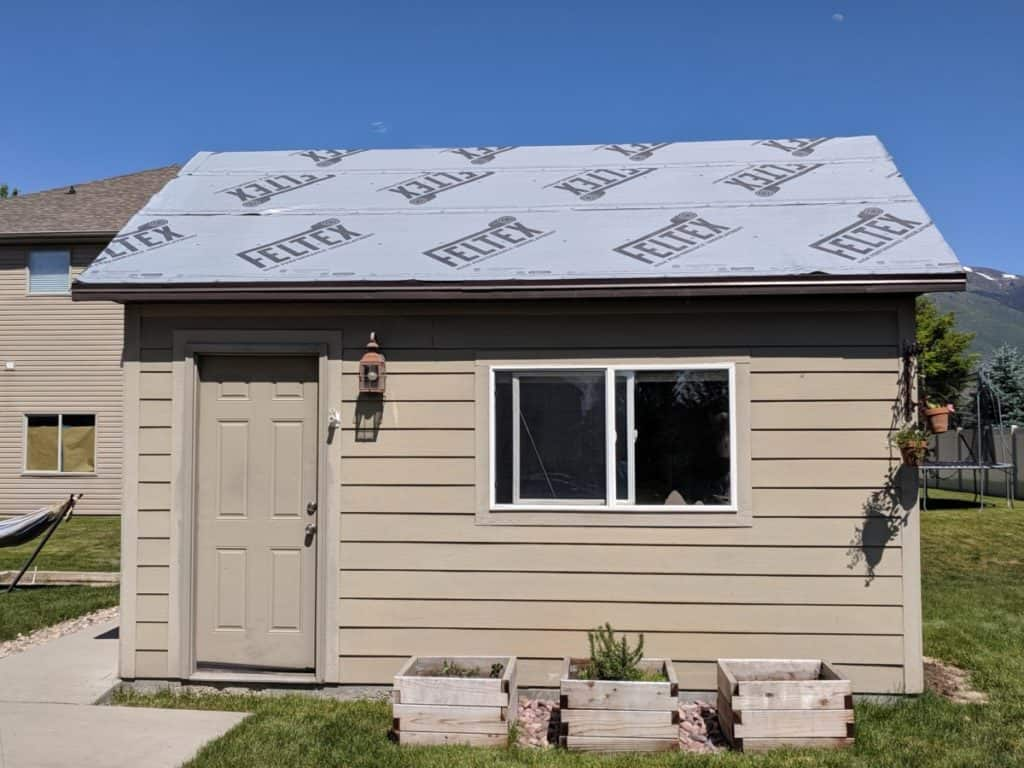 Is Roofing Felt Necessary For A Shed Roof Hippie